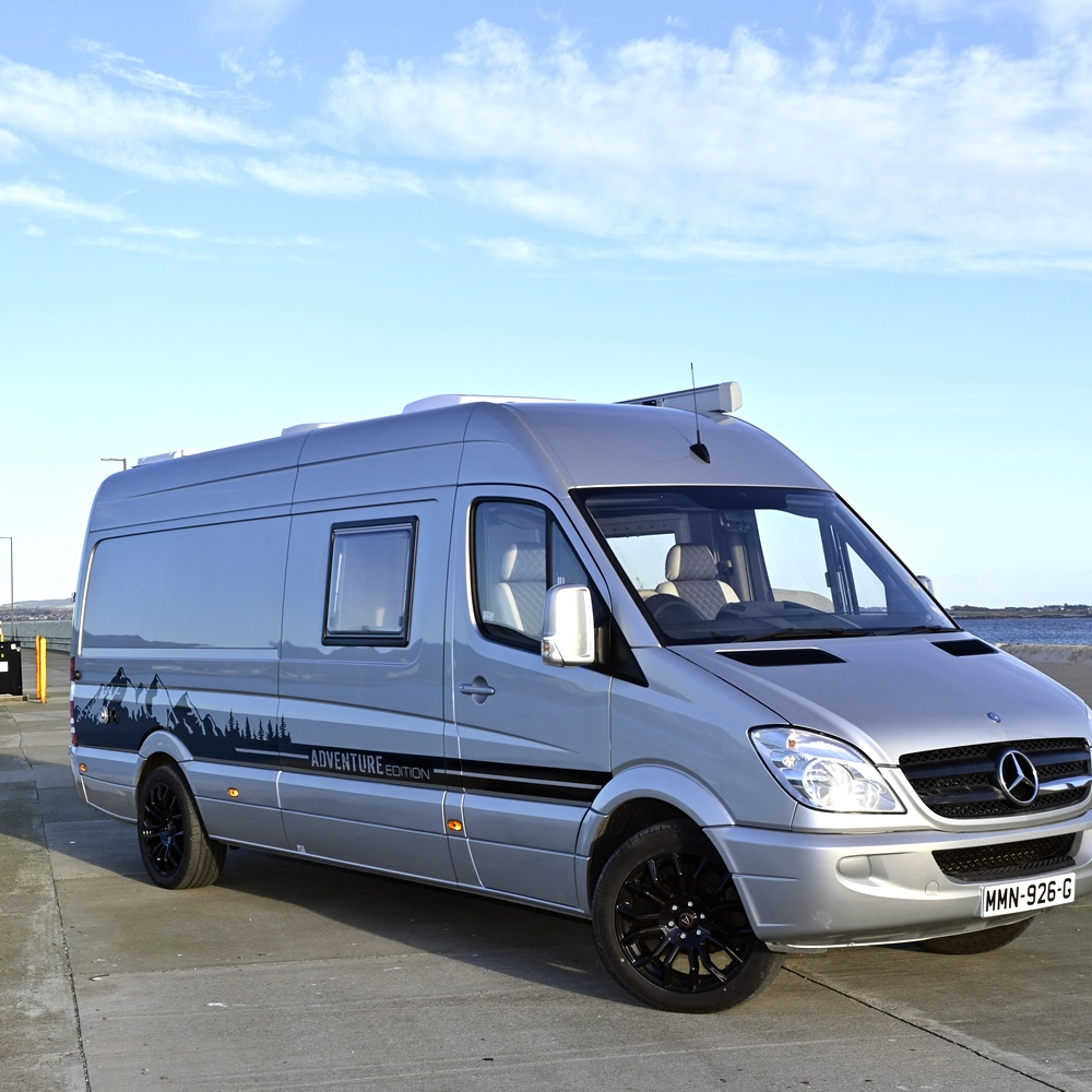Mercedes Adventure Edition front view