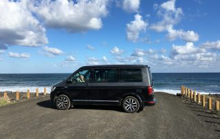 Campervan hire by the sea