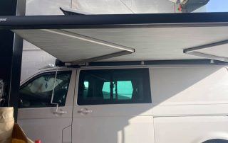 VW Thule awning installation